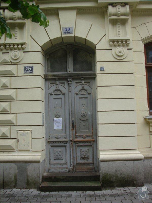 Renovace vstupních dveří: DSC09189