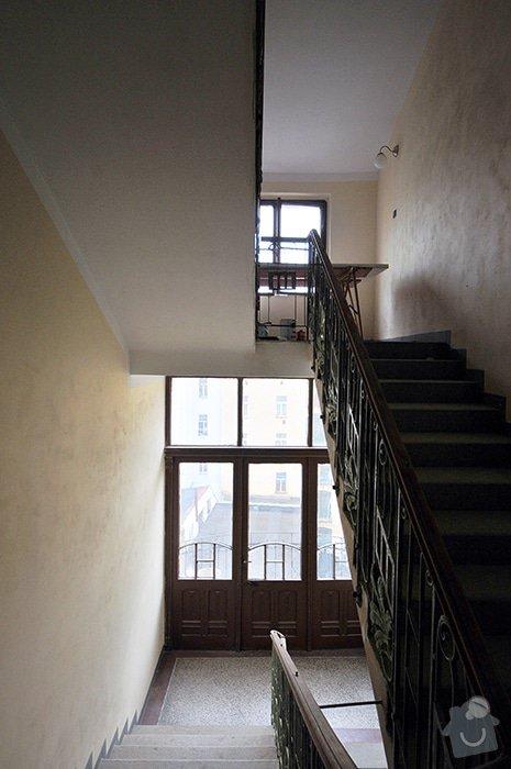 Rekonstrukce schodiště v činžovním domě: Schody_01