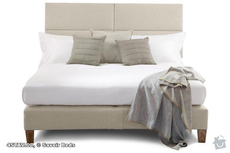 Čalouněná postel: savoir