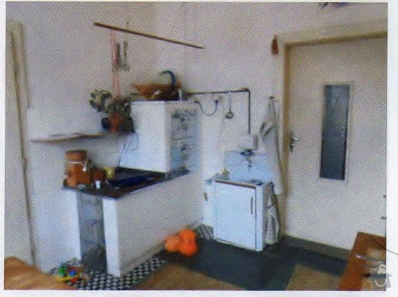 Částečná rekonstrukce koupelny + kuchyně: kuchyne