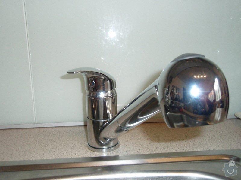 Demontáž / montáž vodovodnej batérie + Montáž stropného ventilátora so svetlom: P6020131