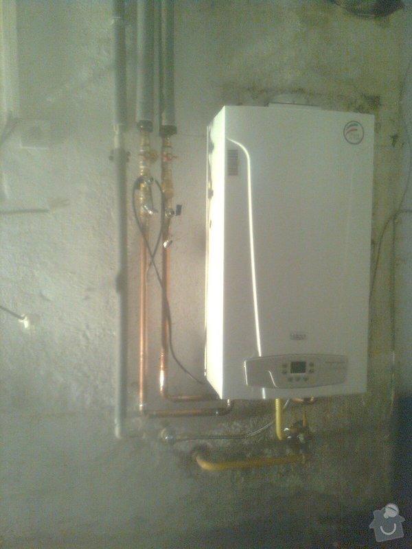 Podlahové topení a ohřev TUV v RD 3+1, anhydrit. podlaha: Obraz0474