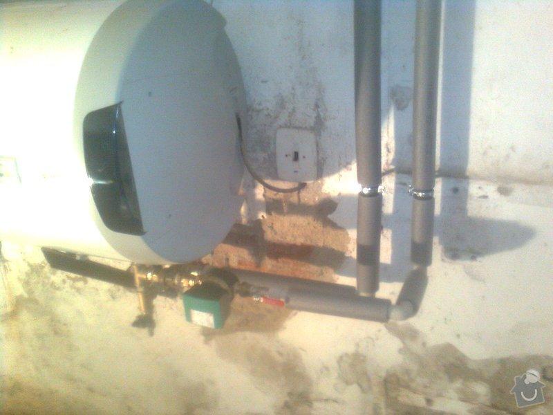 Podlahové topení a ohřev TUV v RD 3+1, anhydrit. podlaha: Obraz0478