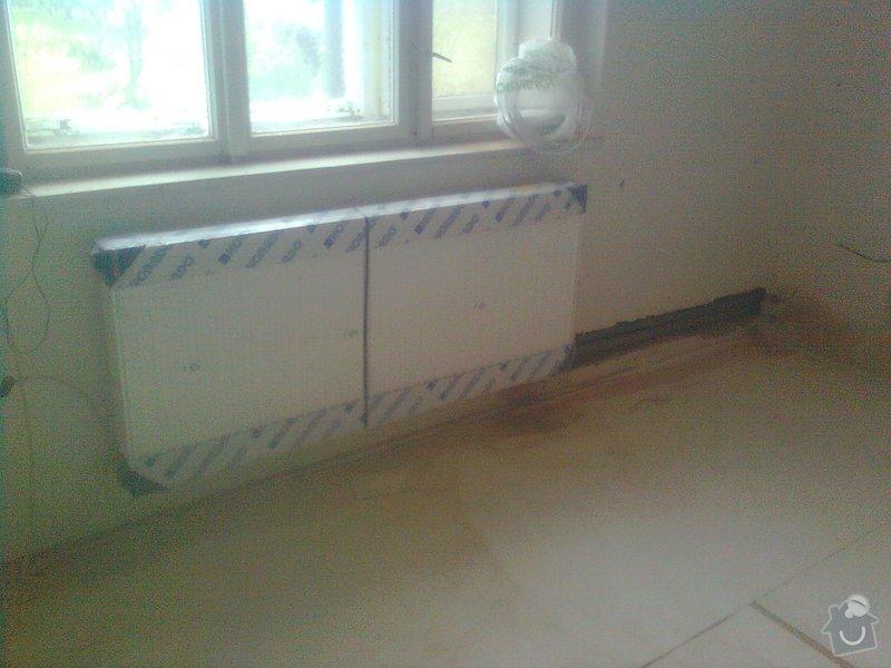 Podlahové topení a ohřev TUV v RD 3+1, anhydrit. podlaha: Obraz0484