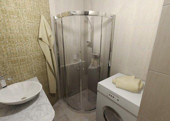 Rekonstrukce koupelny a samostatného WC v cihlovém domě