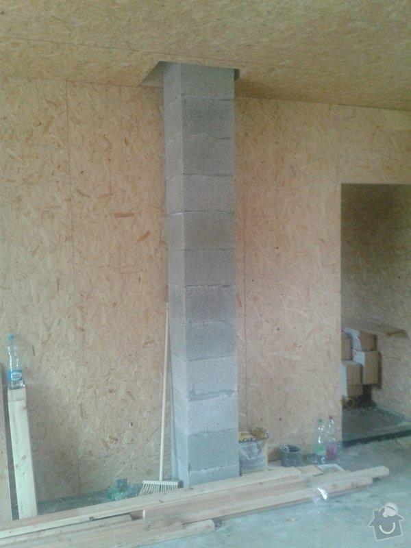 Montáž komínu do dřevostavby: 20130530_140426