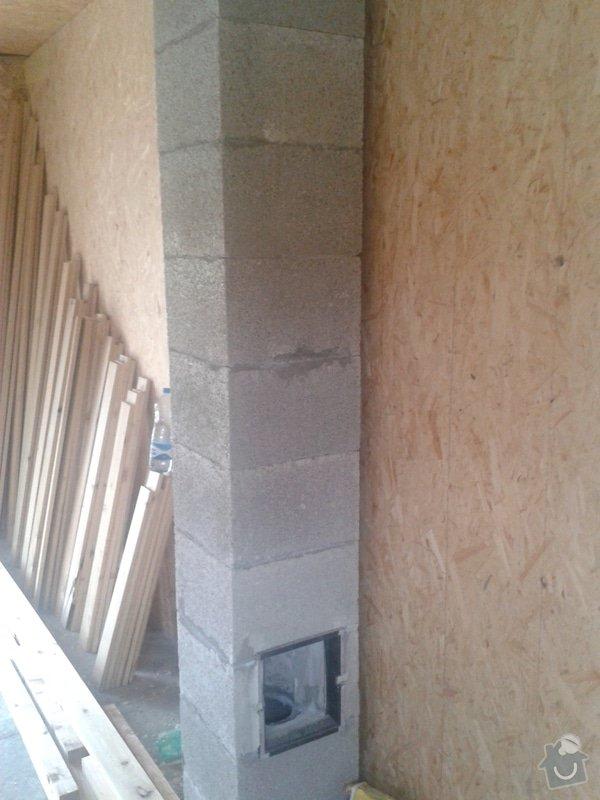Montáž komínu do dřevostavby: 20130530_140437