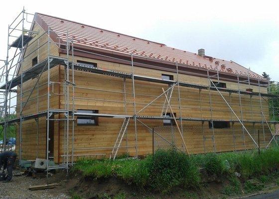 Montáž komínu do dřevostavby