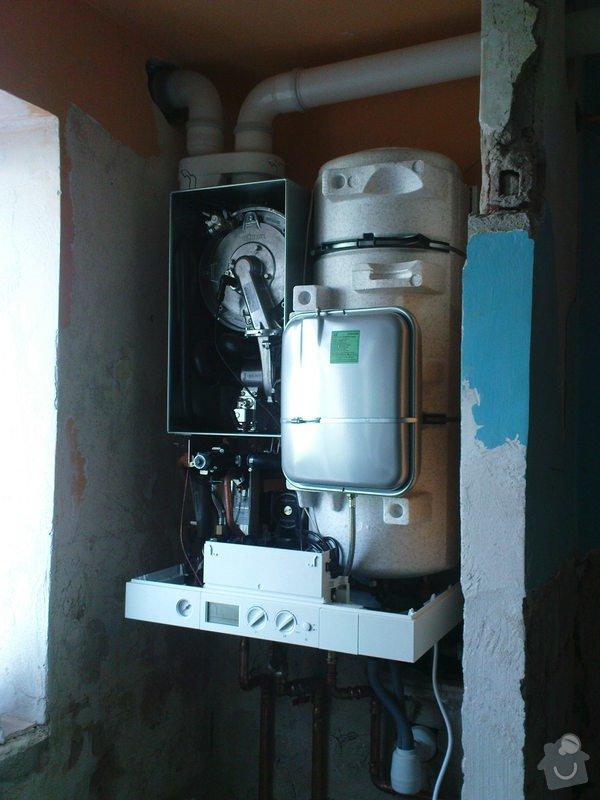 Výměnu plyn kotle + příslušný komín + výchozí revize: DSC00656