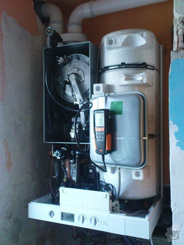 Výměnu plyn kotle + příslušný komín + výchozí revize: DSC00660