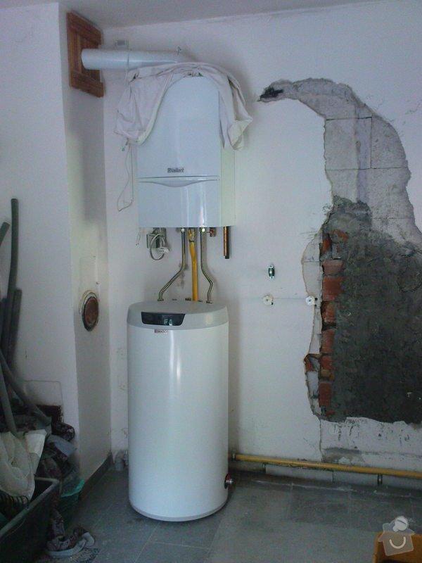 Montáž boileru Dražice: DSC00756