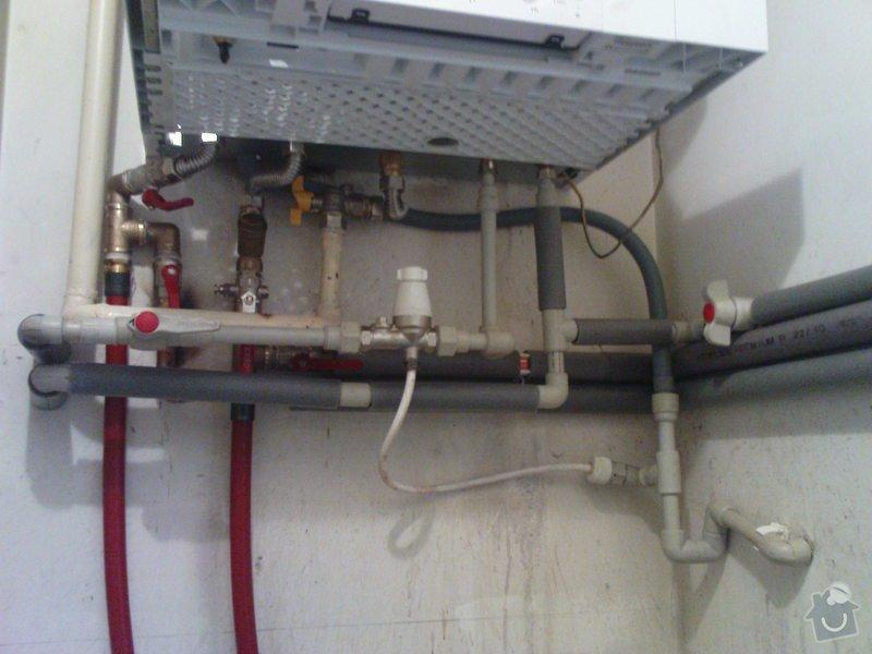 Montáž kondenzačního kotle Viessmann: DSC00740