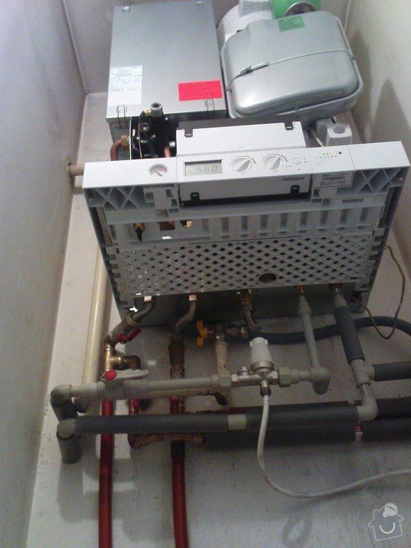 Montáž kondenzačního kotle Viessmann: DSC00741