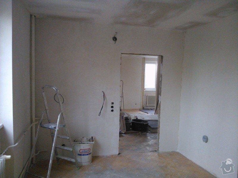 Sádrokartonové podhledy a renovace stěn sádrovou stěrkou: 20130602_160608_WP_001086