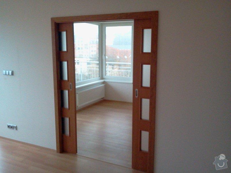 Sádrokarton + pouzdra na dveře + dřevěné dveře: 2012-11-28_08.43.51