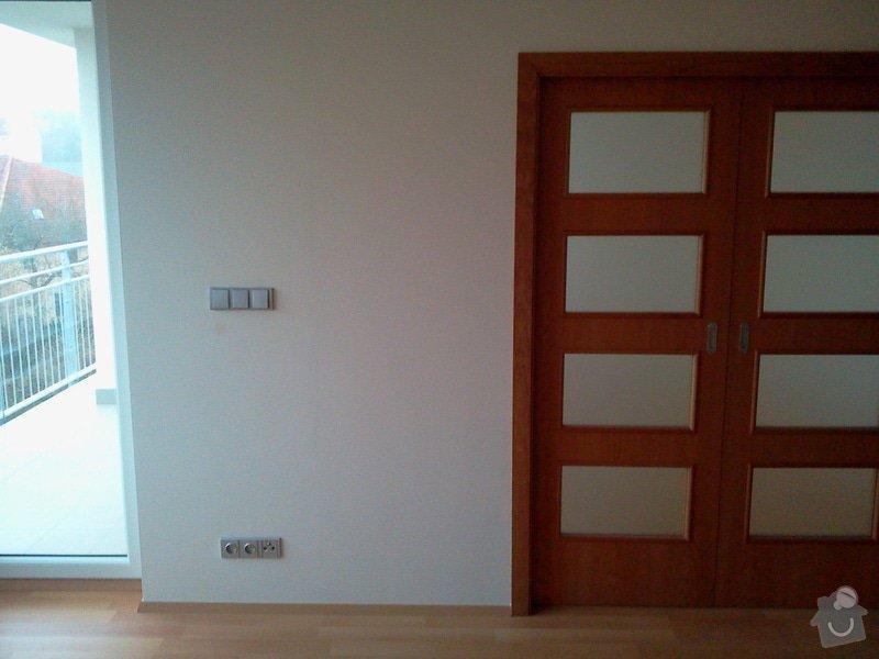 Sádrokarton + pouzdra na dveře + dřevěné dveře: 2012-11-28_08.44.14
