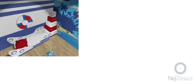 Vymalování dětského pokoje + nalepení tapety : Detsky_pokoj