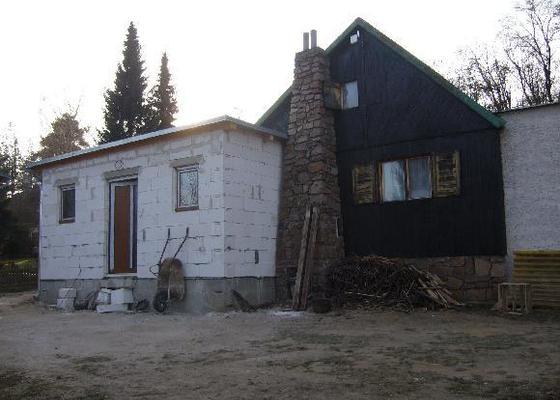 Odbourání a přístavba rekreační chaty