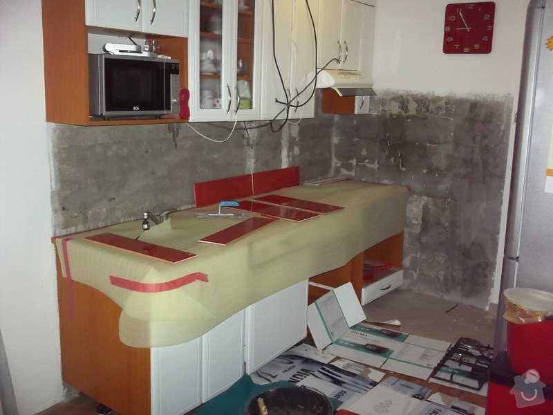 Obklad za kuchyňskou linkou: 100_1525