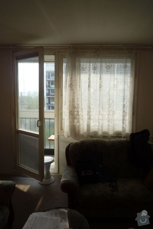Výměna oken v panelovém domě za plast: 02
