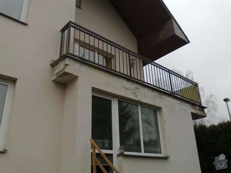 Oprava protékajícího balkonu, lodžie: 11022013805