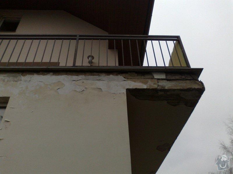 Oprava protékajícího balkonu, lodžie: 11022013806