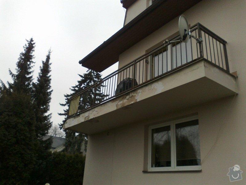 Oprava protékajícího balkonu, lodžie: 11022013807