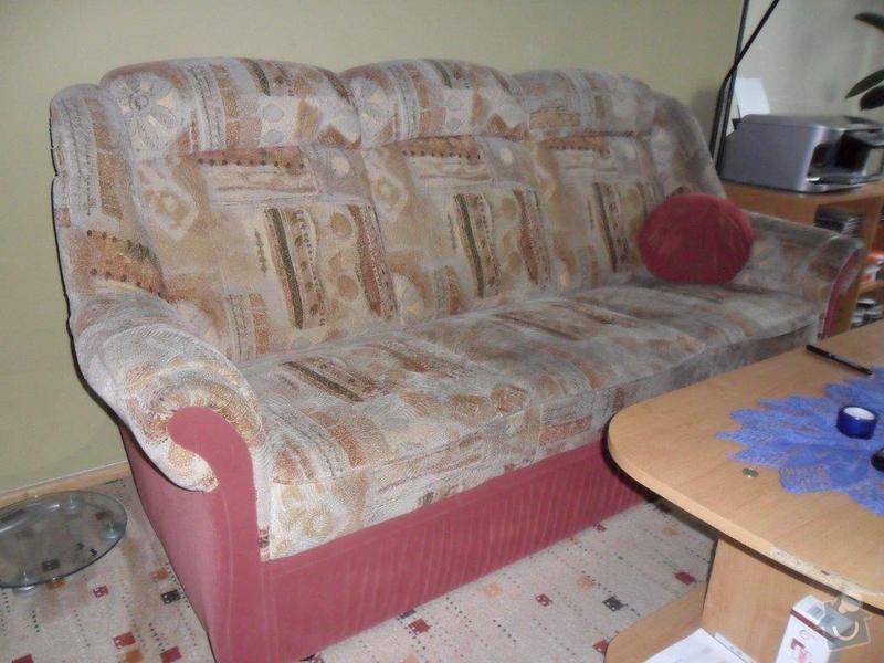 Přečalounění sedačky: SAM_0860