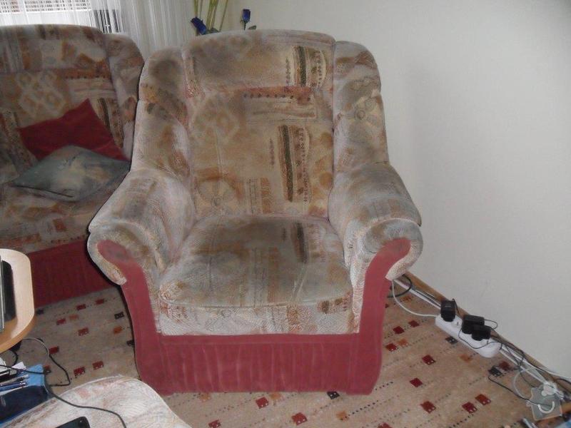 Přečalounění sedačky: SAM_0861