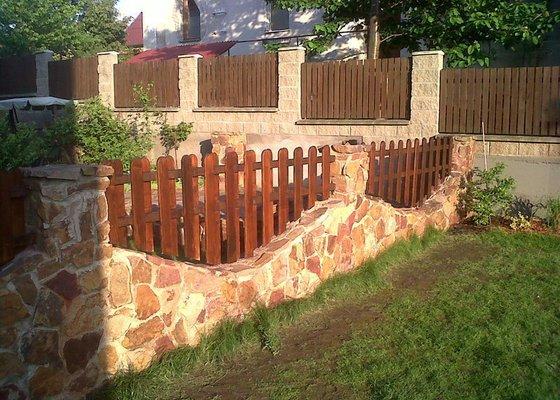 Zhotovení plotu