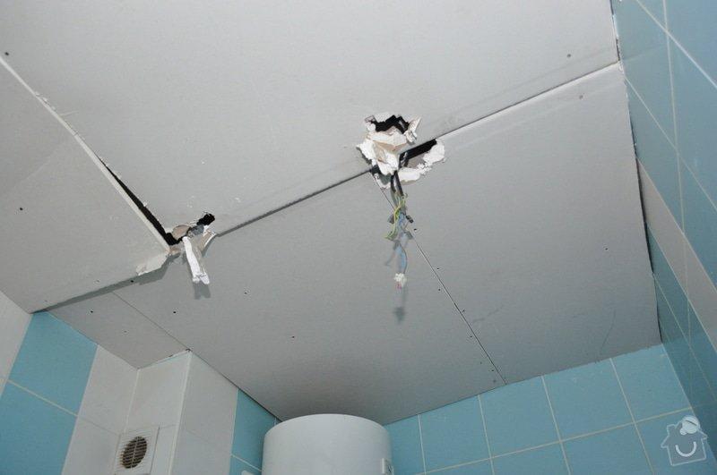 Sádrokartonový strop v koupelně: DSC_0001