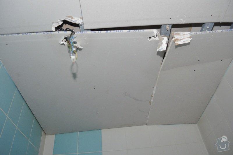 Sádrokartonový strop v koupelně: DSC_0002