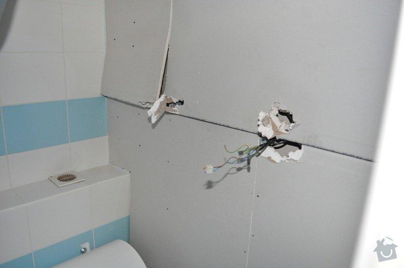 Sádrokartonový strop v koupelně: DSC_0004