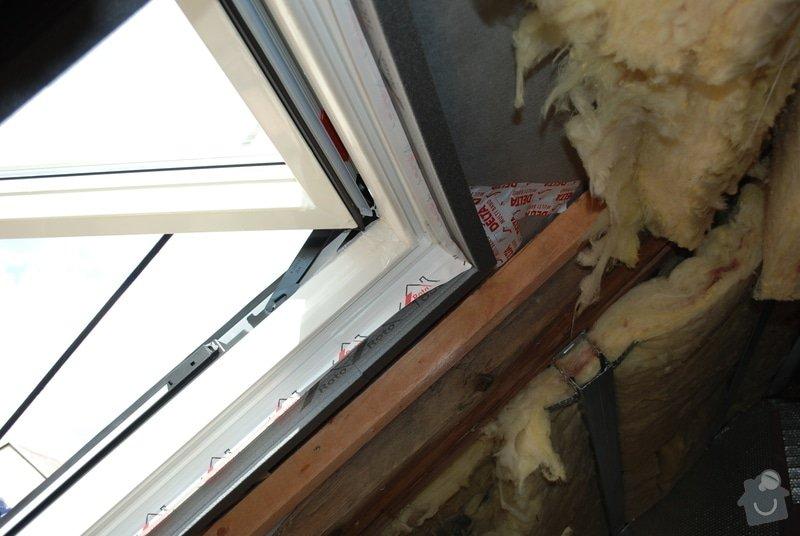 Instalace střešních oken: DSC_1079