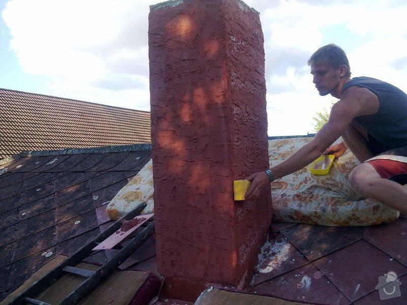 Vložkování ,oprava komína umělým kamenem: 28082011090