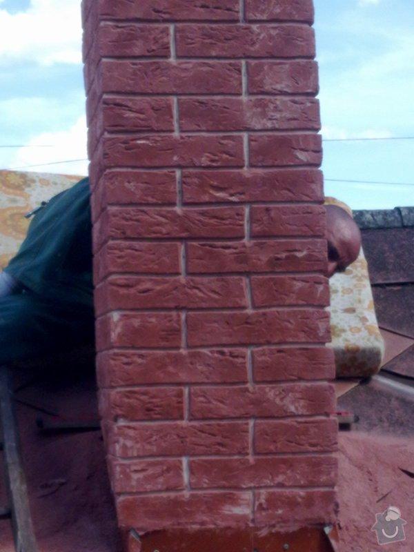 Vložkování ,oprava komína umělým kamenem: 29082011095