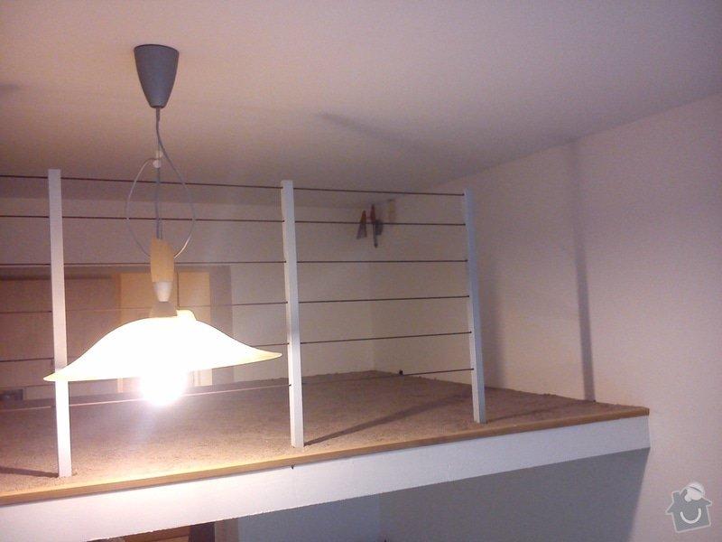 Patro na spaní, schody,osvětlení,zábradlí, podium.: DSC_0100