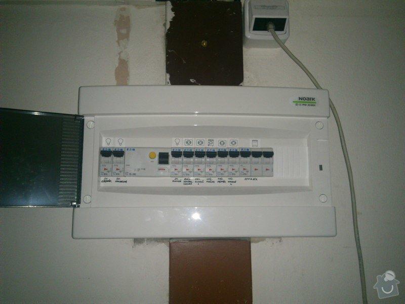 Elektroinstalace v bytě (bytový rozvadeč + připojení kuchyňských spotřebičů): DSC_0226