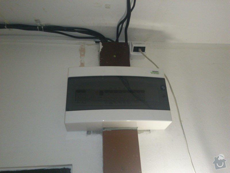 Elektroinstalace v bytě (bytový rozvadeč + připojení kuchyňských spotřebičů): DSC_0223