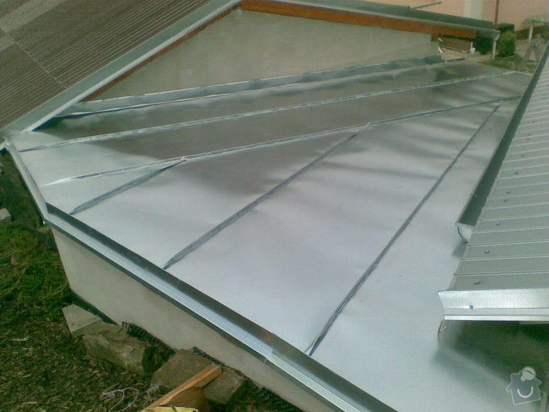 Falcovaná střecha: 018