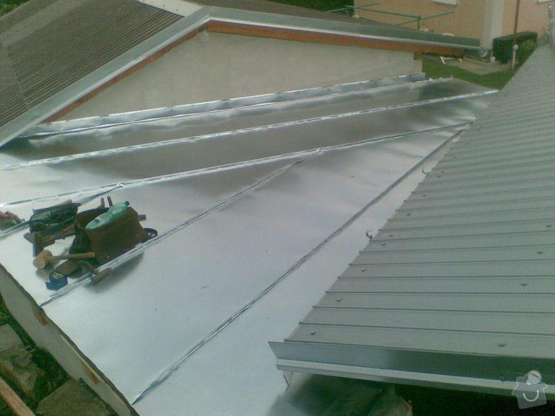 Falcovaná střecha: 020