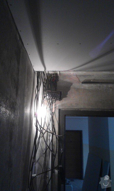 Rekonstrukce elektro rozvodů panelák: 1
