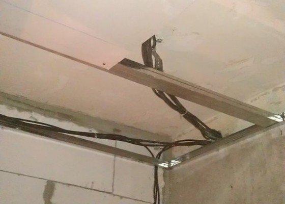 Rekonstrukce elektro rozvodů panelák