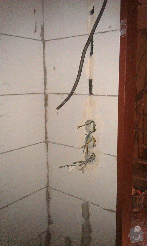 Rekonstrukce elektro rozvodů panelák: 15