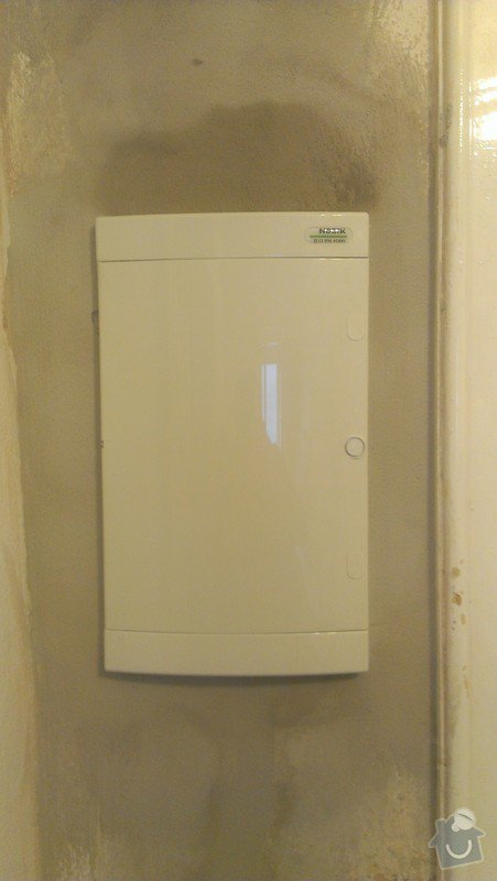 Rekonstrukce elektrorozvodů rodinný dům: IMAG0189