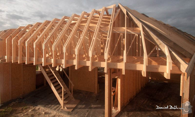 Dřevostavba atypické konstrukce: 01_RD_001