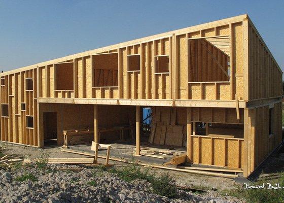 Dřevostavba atypické konstrukce