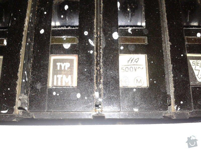 Výměna jističů+rozvodné skříně v panel.domě: Jistice2