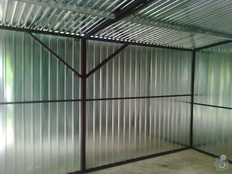 Plechová garáž + sklad dřeva: Zdjecie0448