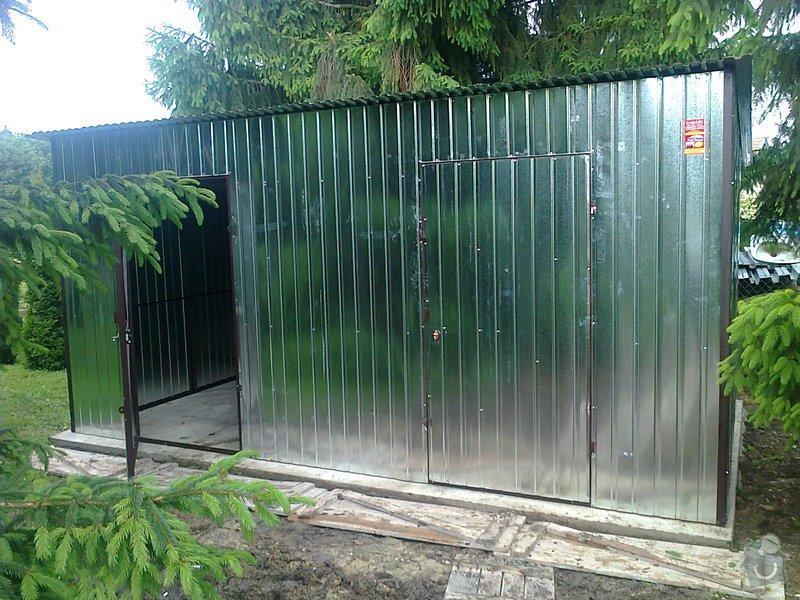 Plechová garáž + sklad dřeva: Zdjecie0449